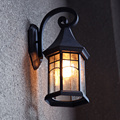Vintage Wall Lamp Outdoor Courtyard Retro Lamps Waterproof Corridor Lamp Wall Light