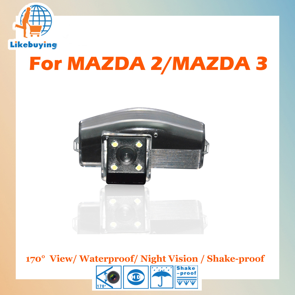 1/4 Color CCD HD Rear View Camera / Parking Camera / Reverse Camera For MAZDA 2 / MAZDA 3 Night Vision / Waterproof / LED Lights<br><br>Aliexpress