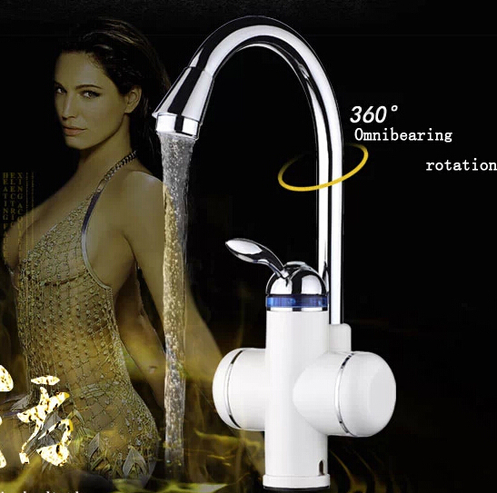 single hot electric faucets cold water Instant heating type bathroom faucet swan kitchen - soso lie's store