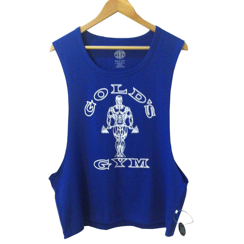 Bodybuilding Clothing Mens Clothes Famous Brands Golds Gym Tank Top Sleeveless Undershirt Sport Regata Muscle Shirts Academia - Apparel Co. Ltd store