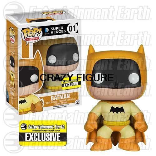 N- 2015 NEW Spot new figrue imported Funko POP! Batman doll 75th Anniversary Limited rainbow yellow(China (Mainland))