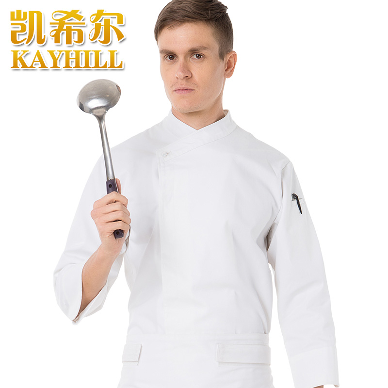 Hot Anti-static cook suit long-sleeve fashion brief dovetail type chef  work wear cook uniformsОдежда и ак�е��уары<br><br><br>Aliexpress
