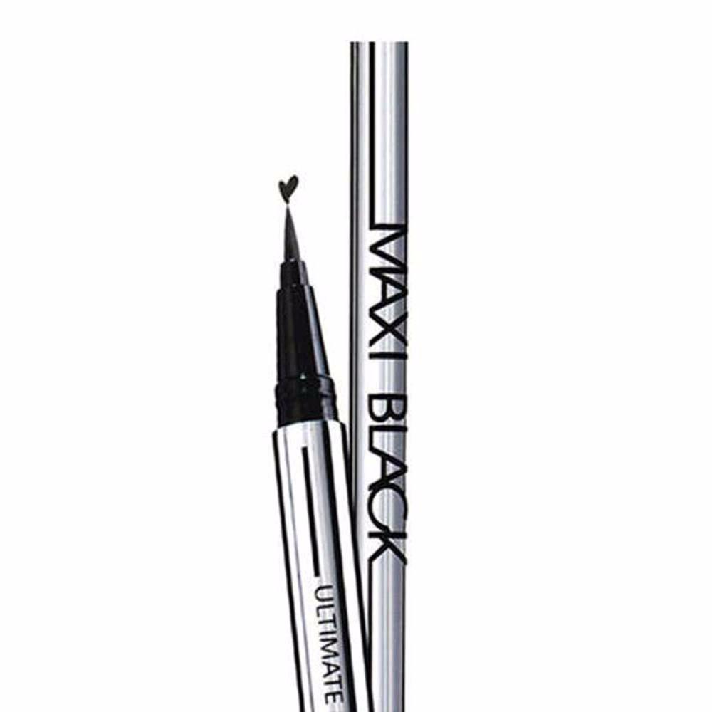 1 pc New Mulheres Senhoras Extrema Preto Delineador Líquido Maquiagem À Prova D' Água Up Eye Liner Pencil Pen Maquiagem HOT Ferramenta de Beleza Frete grátis
