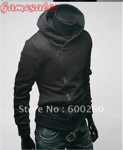 Mens Turtleneck Jacket High Collar Men's Jacket