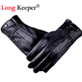 Mr Right Genuine Leather Gloves Full Finger Glove for Men Winter Sport luva Military Tactical guantes