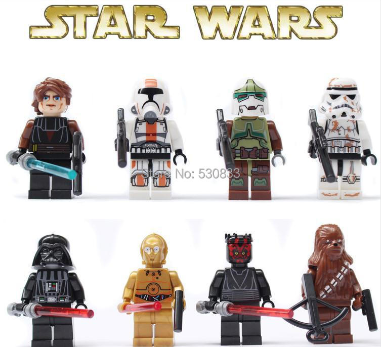 SY198 Star Wars Building Blocks Sets Action Minifigure Kids Educational Toys Compatible Lego,T16 - factory LEGOtoys store