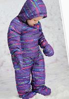 бренд 2 в 1 Зимние девушки все в 1 лыжный костюм малыш лыжах одежды задать ветрозащитный водонепроницаемый дышащий снег теплой наборы