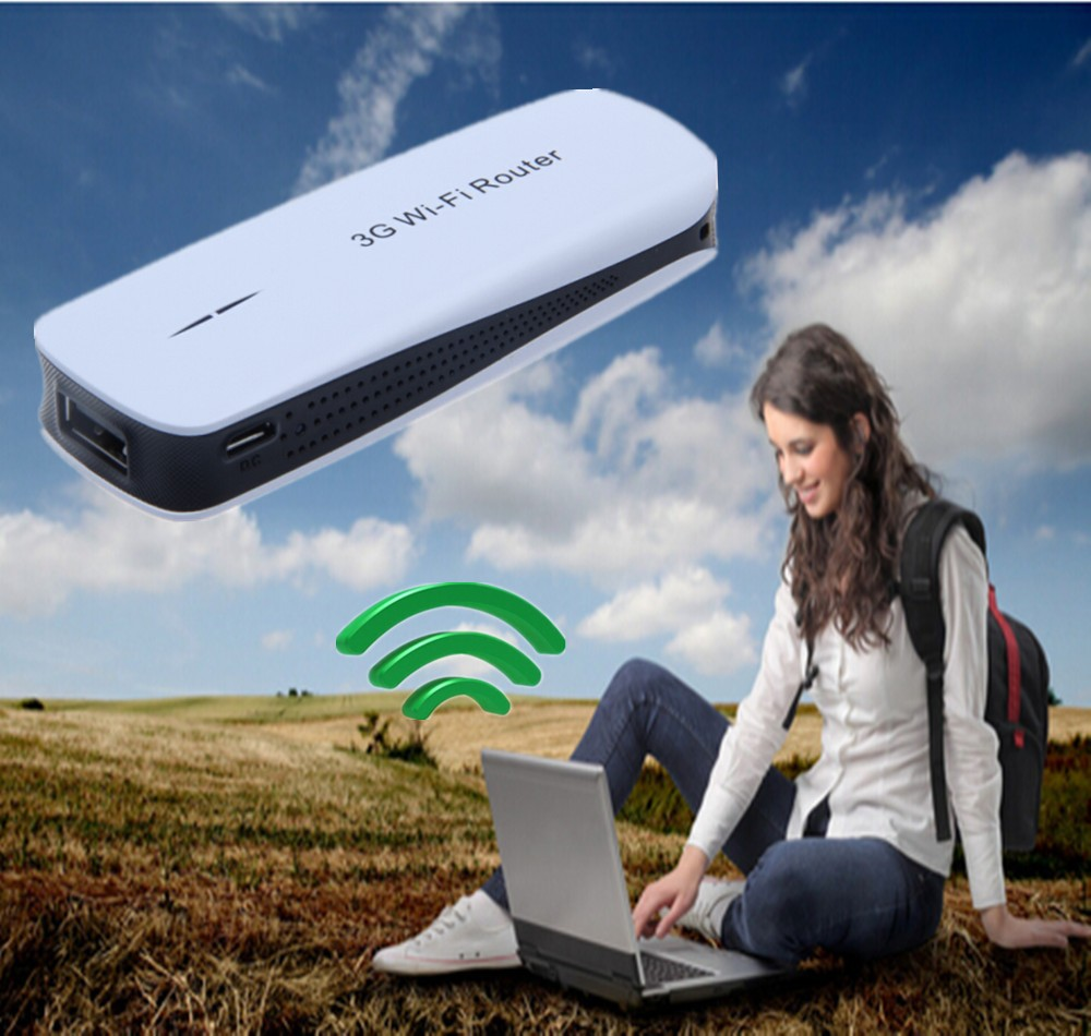 150Mbps Mini Portable 3G Wireless USB Router WIFI AP Mobile Hotspot Range Expander 200M + Mobile Power Charger(China (Mainland))