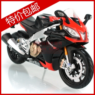 Apulia rsv4 rossoneri aprilia color alloy motorcycle model toy(China (Mainland))