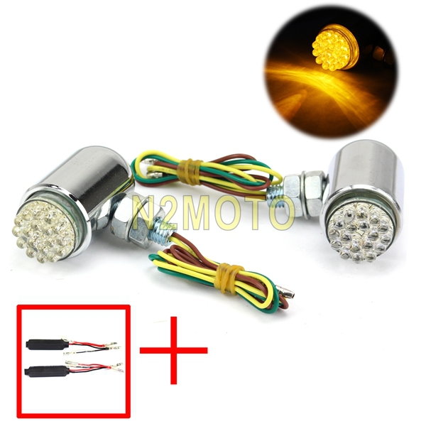 Motorcycle Winker Lamp 18xpcs Led Turn Signal Light Indicator Lighting Lamp Fits Motorcycles With 10mm Hole Fairing(China (Mainland))