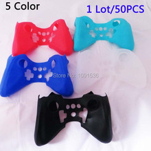 Protectiver Soft Silicone Skin Case Cover for Wii U Pro Controller Wireless Free shipping