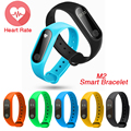 2017 Newest M2 Smart Bracelet Wristband 0 42 Inch OLED Screen IP67 Waterproof Support Heart Rate