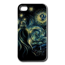 Star Wars Starry Night Cover case for Iphone 4 4s 5 5s 5c 6 6plus Samsung galaxy A3 A5 A7 S3 S4 S5 Mini S6 Edge Note 2 3 4 5
