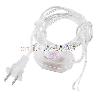 1.8M Length Lamp Power Cord Swivel Dimmer Switch AC 250V/110V US Plug(China (Mainland))