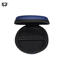 2 Pcs PU Carbon Fiber Zipper Headphones Earbuds Earphone Hard case Storage Carrying Pouch bag SD Card Hold box for Mini Device