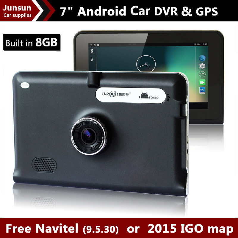 New 7 inch GPS Android Navigation Capacitive Screen Car dvrs Recorder camcorder FM WIFI Truck vehicle gps Built in 8GB Free Map(China (Mainland))