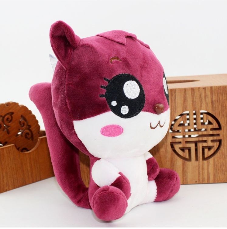 The latest stuffed toy doll video games city squirrel Grasp the machine doll The wedding gift gift activities(China (Mainland))