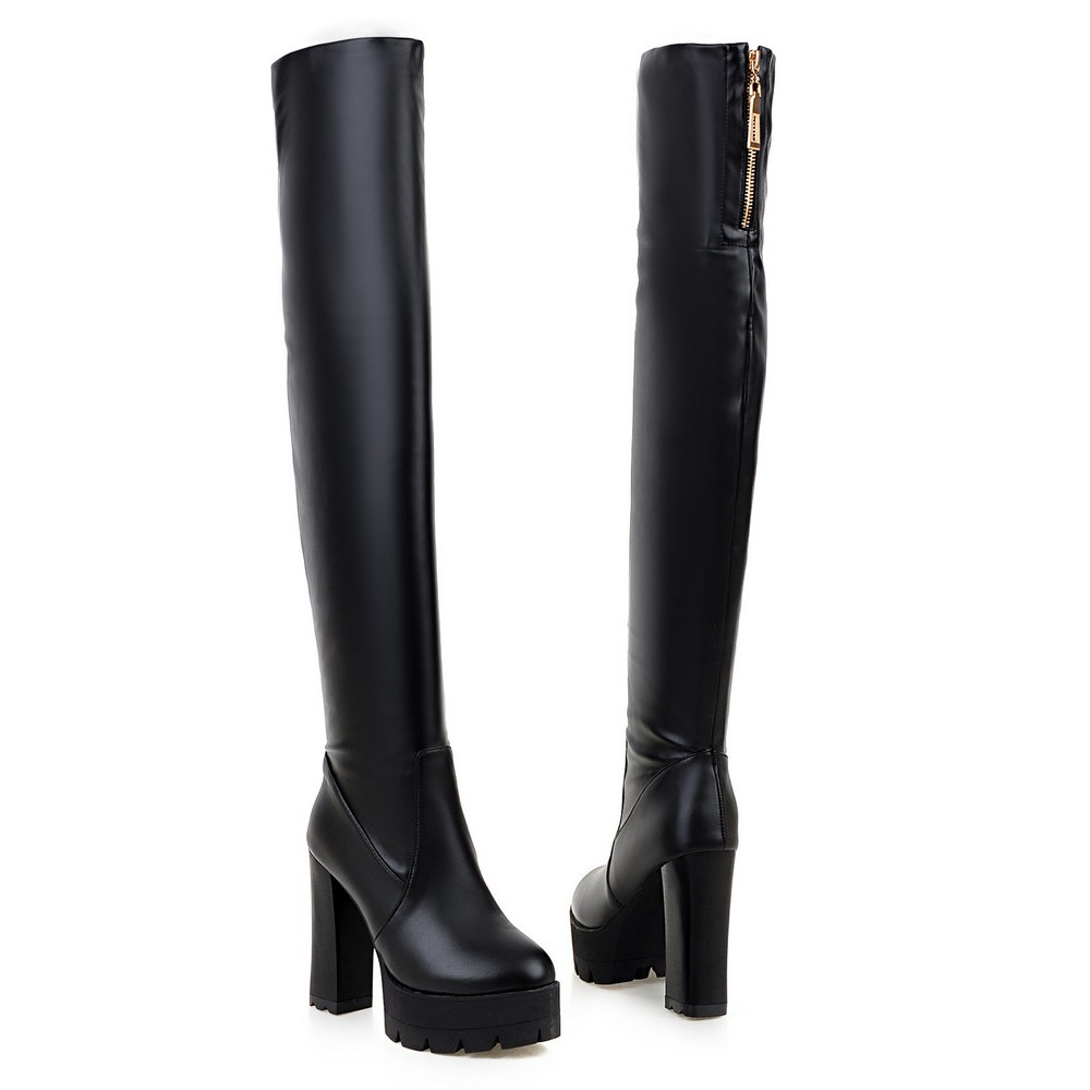 Cheap Thigh High Boots Size 9 - Yu Boots
