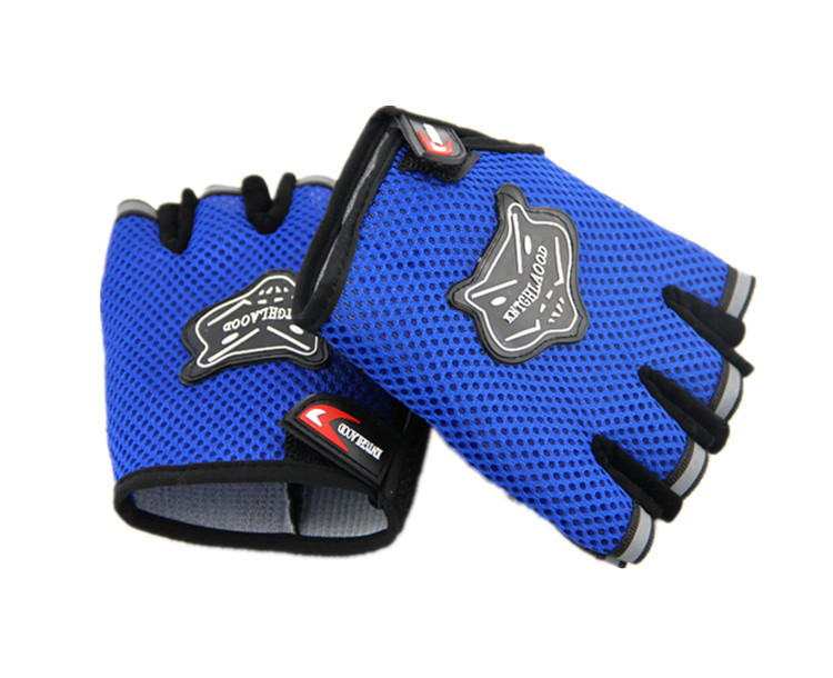 Weight Lifting Gloves Workout Body Building Gym Gloves Half Finger Fitness Anti Slip Bar Grips Power Training Exercise Mittens(China (Mainland))
