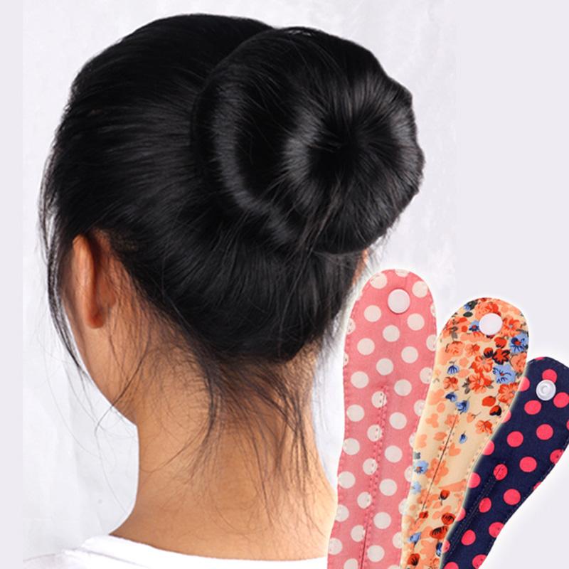 ホット販売ファッションマジックツール泡デバイスクイックメッシードーナツおだんご髪型女の子女性の髪