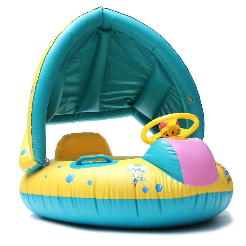 Kids Baby Swim Ring Inflatable Toddler Float Kid Swimming Pool Water Seat Play Toy Seat Float Water Swim Accessories(China (Mainland))
