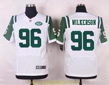Men's free shiping A+++ quality New York Jets #96 Muhammad Wilkerson Elite(China (Mainland))
