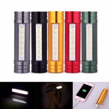 5 Colors 600LM LED Flashlight Super Brightness 5730 LED Flashlight & Power Bank & Headlight + USB Cable + Headband