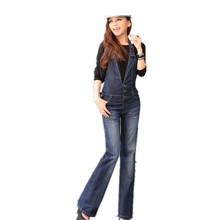 Pantalones rectos de algodón de espalda escotada para mujeres
