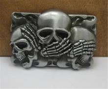2015 fashion luxury men belt buckles metal skull brand DIY mens designer belt buckles new year gifts free shipping CX339(China (Mainland))