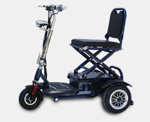 Tj 48v20ah 002 folding electric tricycle scooter tricycle for Motorized scooters for the elderly