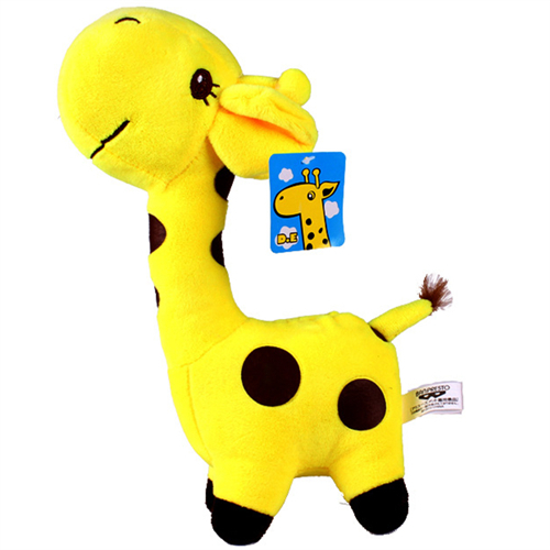 18CM Giraffe Toys Baby Kids Dolls Toys Doll Stuffed Plush Animals For Boys Girls Hobbies Products Supplies Accessories t001(China (Mainland))