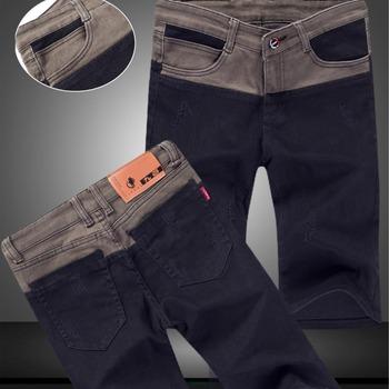 Новое поступление летние тонкие джинсовые брюки мужские прямые джинсовые шорты жан мужские до колен джинсы бренд свободного покроя джинсы бесплатная доставка