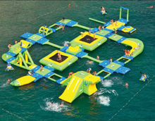 Factory direct large inflatable water park, inflatable water bounce, inflatable pool  SCB-046(China (Mainland))