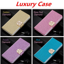 """Buy Flip Glitter Case Samsung Galaxy J1 Ace J110 J110F 4.3"""" PU Leather Cover Card Slot Wallet Pouch Phone Bag for $4.13 in AliExpress store"""