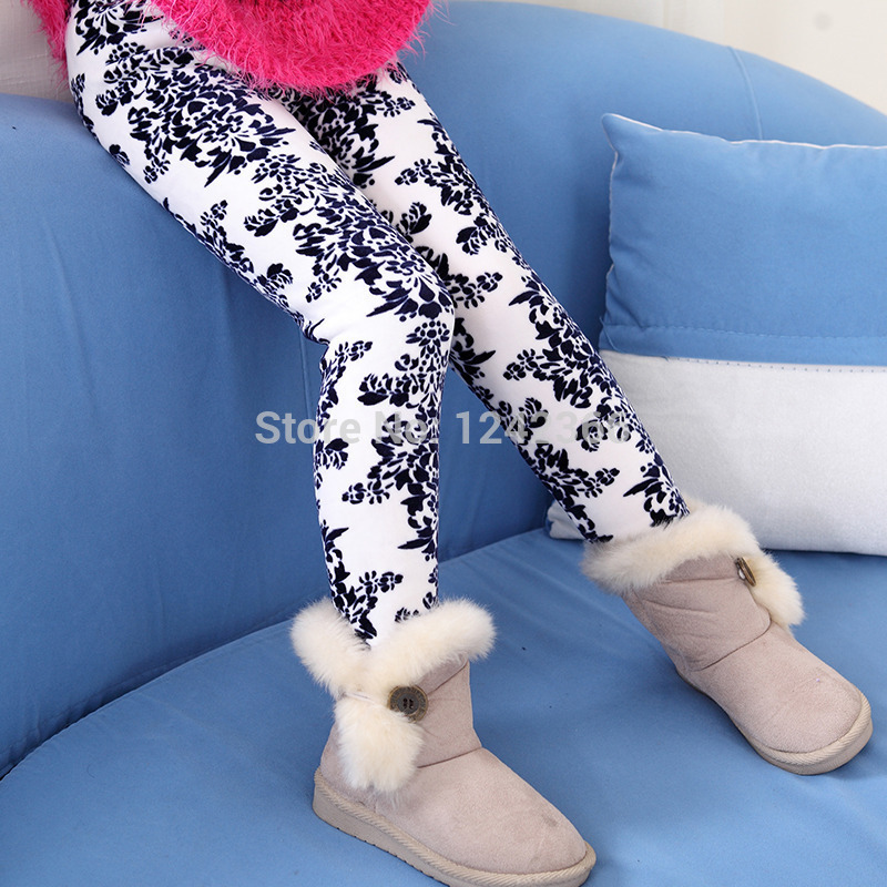 Baby girl clothes Girls Leggings Warm Pants bottoms autumn winter fashion kids clothing stores seven colors baby stuff(China (Mainland))