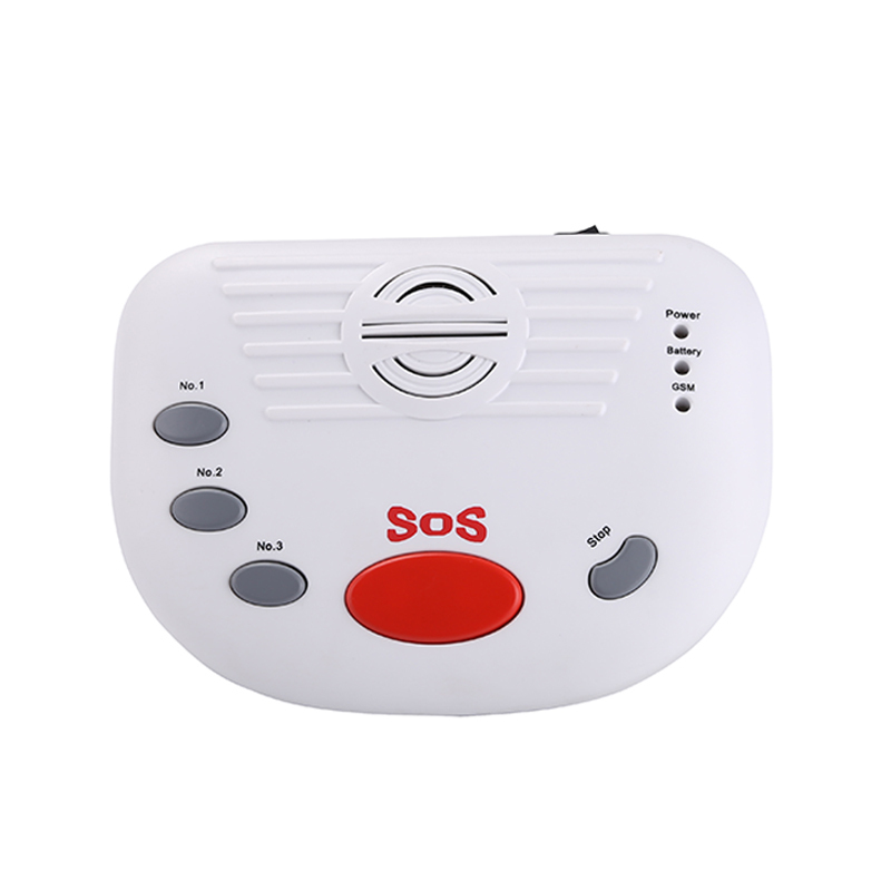 Wireless Wired Defense Zone GSM Elder Alarm Home Security Alarm System Emergency Call Button for Elderly Children A10 Package(China (Mainland))