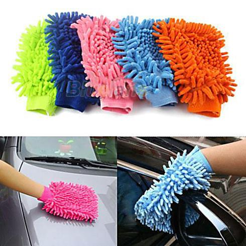 Гаджет  Super Mitt Microfiber Car Wash Washing Cleaning Gloves Car Washer Wholesale 01KA None Автомобили и Мотоциклы
