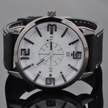 2014 Fashion Men Watch Alloy Quartz Wrist Watch with Rubber Strap Band Free Shipping Tracking Number PMPJ579*20
