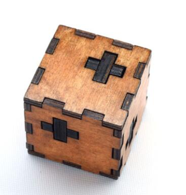 Puzzle toy Brain Training Switzerland cubic intellectual toys classic style Kong Ming lock Luban wooden educational toys(China (Mainland))