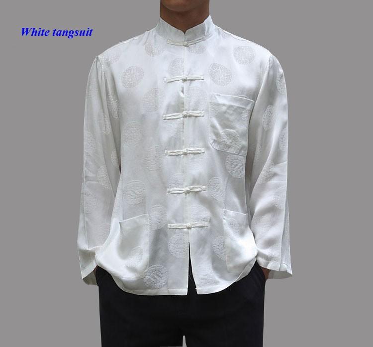 white tangsuit