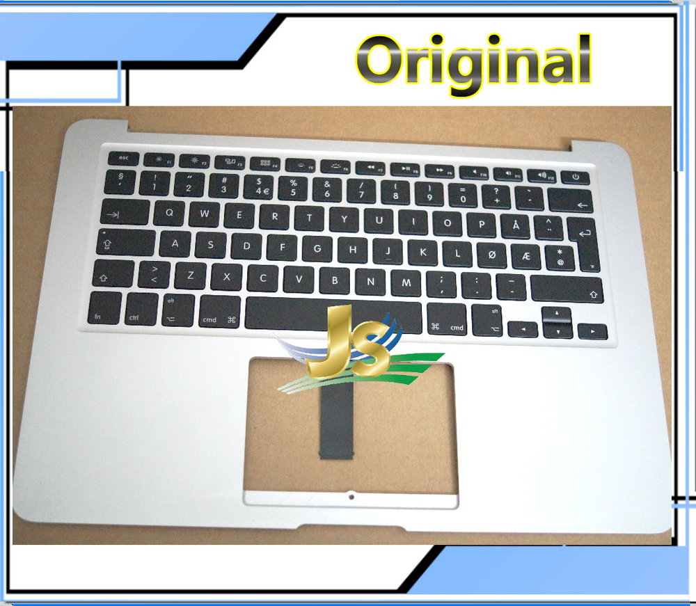 Laptop NO Norwegian Topcase For Macbook Air 13 A1466 NO Norwegian topcase palmrest with keyboard No Touchpad 2012 Year<br><br>Aliexpress