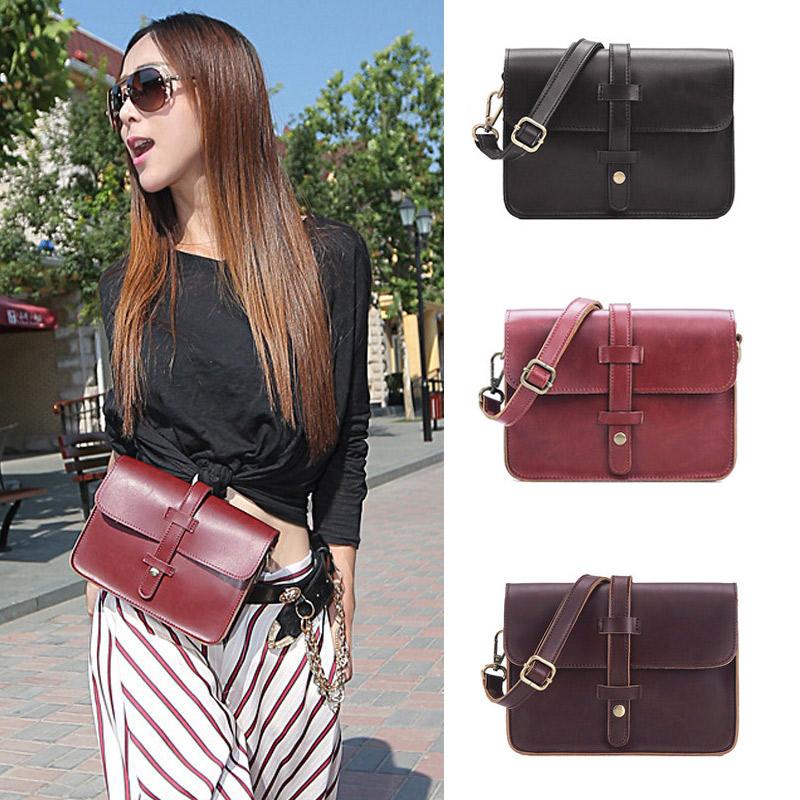 2016 Brand New Vintage Burgundy Messenger Bag for Women,Girls PU Leather Shoulder Crossbody Bags Satchel Tote bolsas femininas(China (Mainland))