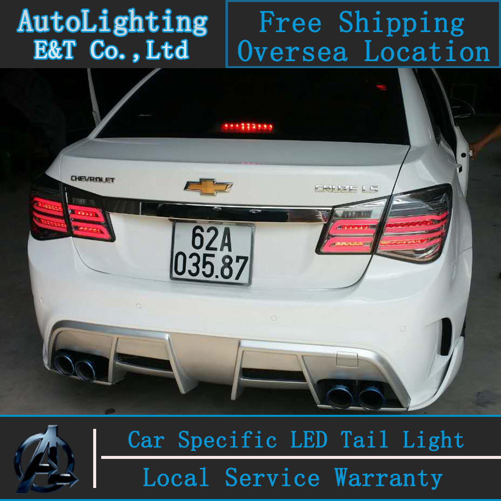 Auto Lighting Style Led Tail Lamp For Chevrolet Cruze Led Tail Lights Glk Design Rear Trunk