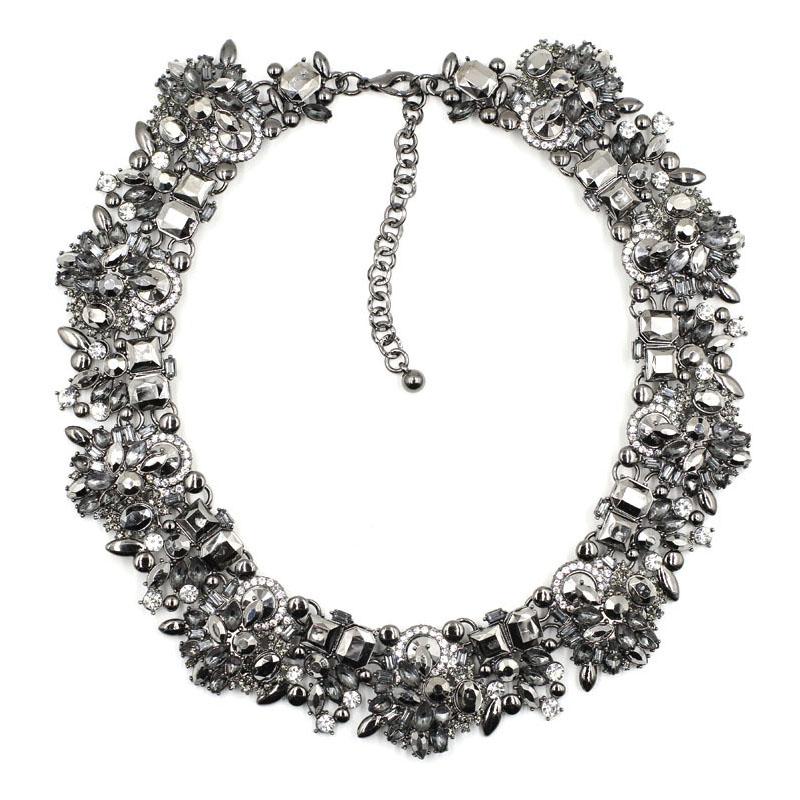2016 NEW Z fashion necklace collar bib Necklaces & Pendants statement choker women 2 colors choose - JUJIA Official Store store