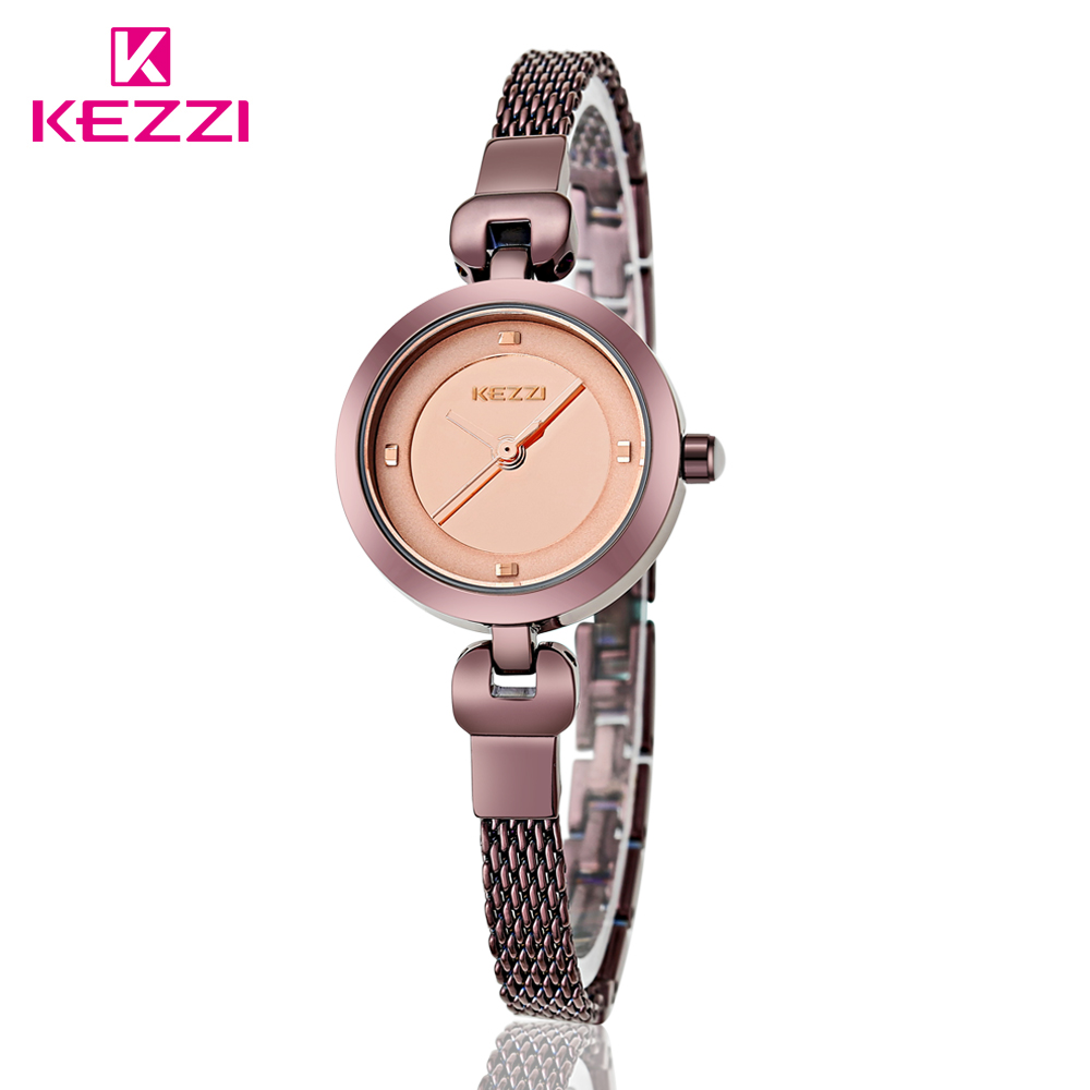 KEZZI Luxury Watches Elegant Quartz Fashion Round Casual Reloj Quartz Wristwatches Female Bracelet Fashion Relogios Watch KW1140<br><br>Aliexpress