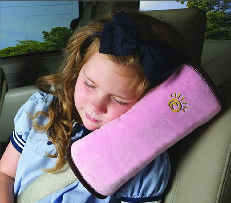 Useful Auto Safety Seat Belt for Children Protection Shoulder Pad Cover Cushion Head Neck Rest Pillow