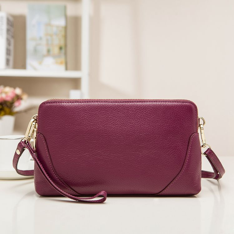 Women's Cowhide Leather Handbag - free shipping worldwide
