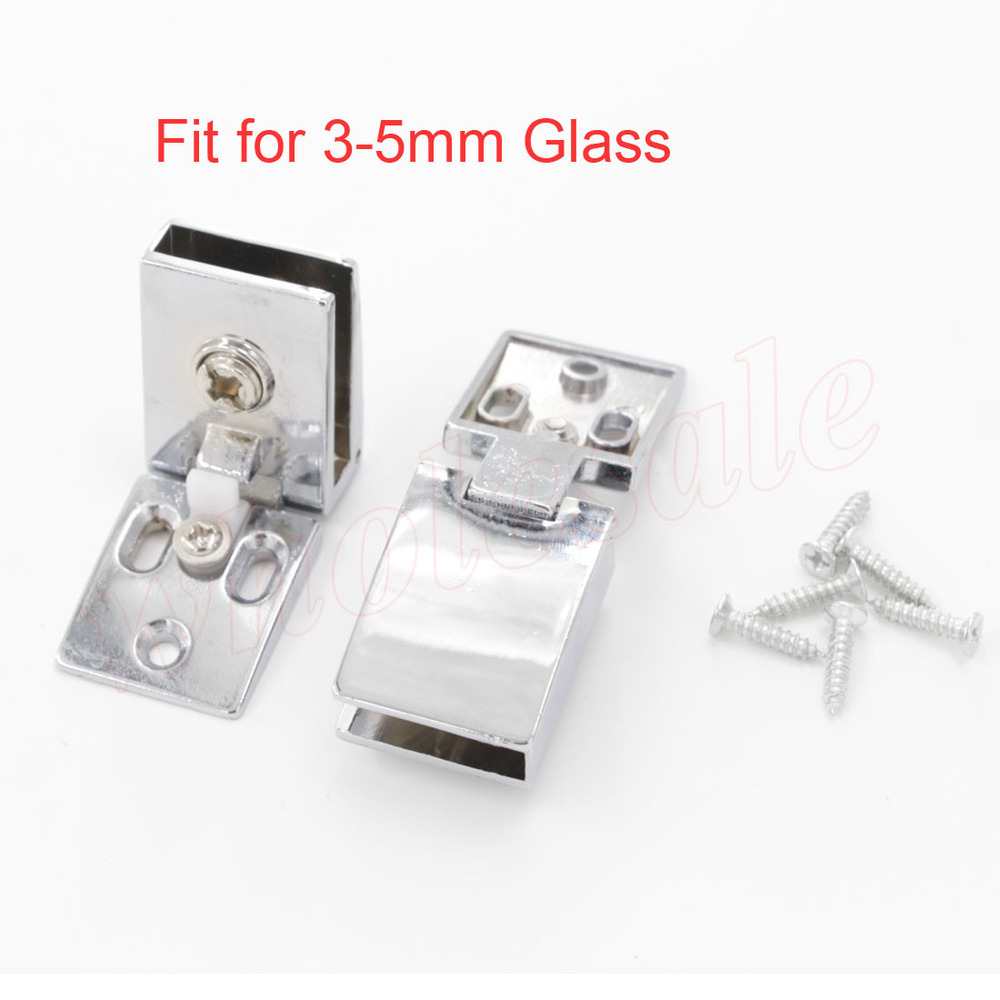 High Quality of Zinc Alloy Back Cover Glass Hinge for 3-5mm Glass Thickness(China (Mainland))