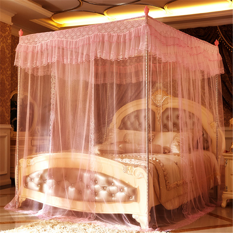Princess bed canopy net round mosquito nets mosquito net for Rectangle bed canopy