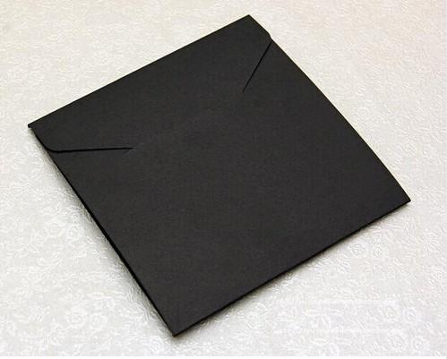 Black coardcoard box storage cd case, wedding dvd box , envelope cd dvd black(China (Mainland))
